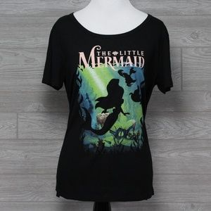 The Little Mermaid Black Shirt Size Large